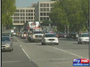 Truckers Protest Fuel Prices Capitol Hill
