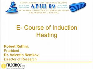 E-Course of Induction Heating - English