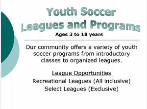 Youth Soccer Programs