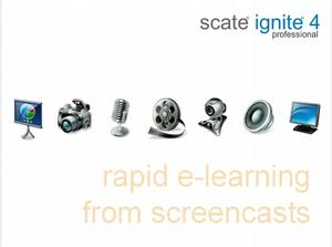 Create Rapid e-Learning from Screencasts