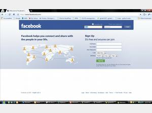 Creating a New FaceBook Account