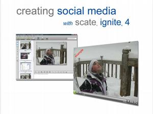 Using Scate Ignite 4 for Social Media Creation
