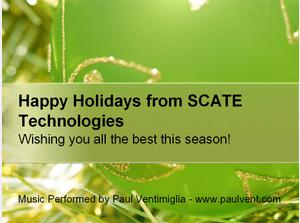Happy Holidays from SCATE Technologies!