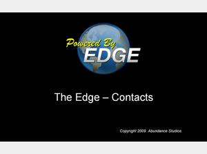The Edge Contacts screen