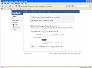 Facebook - Setting Up Your Facebook Account