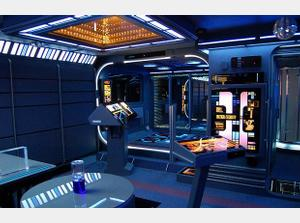 Ultimate Star Trek Bachelor Pad
