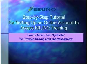 Step-by-Step Tutorial for BRUNO Training