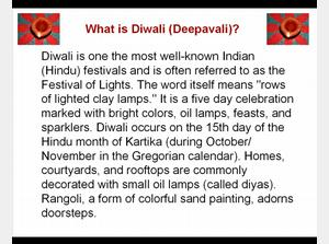 Happy Diwali - The Festival of Lights