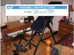 Teeter Hangups Inversion Table - Assembly