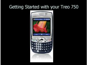 Treo 750 User Training Sample Chapter
