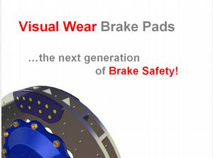 Visual Wear Brake Pads