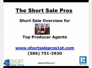 Why Top Realtors Outsource to the Short Sale Pros!