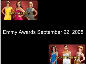 Emmy awards - Best and Worst Dressed